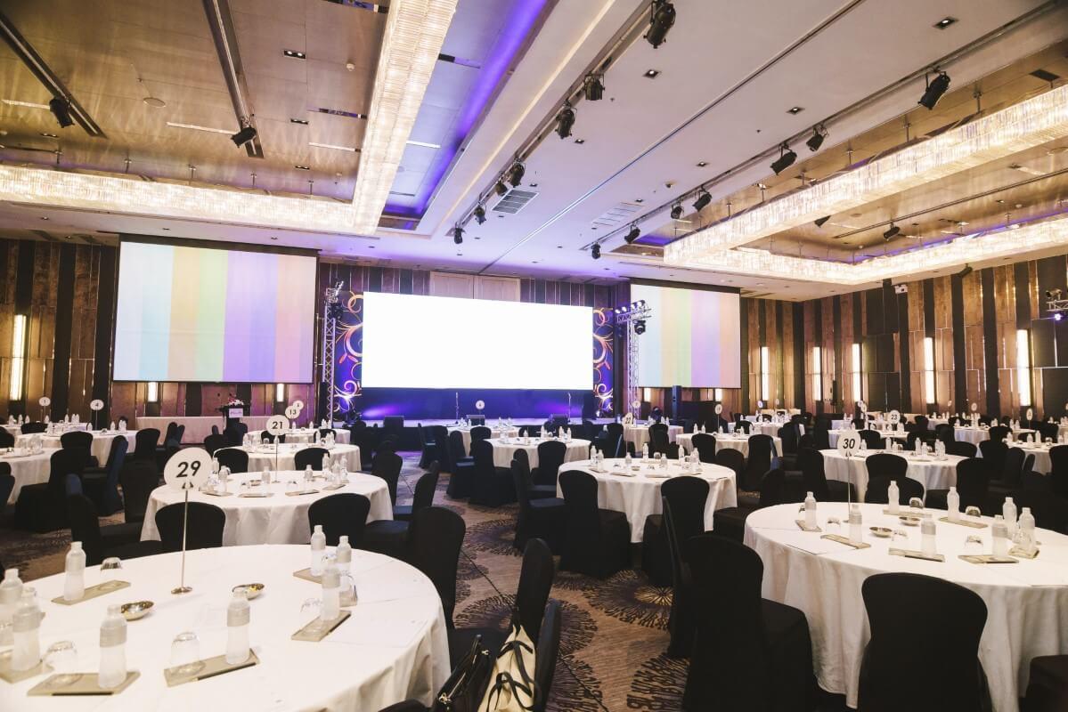 Events Management - venue setup